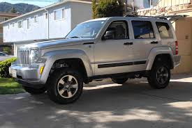 silver jeep liberty jeep liberty suspension systems 2008 2012