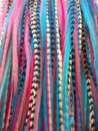 feathers for hair feather hair extension 6 11 gorgeous light pink