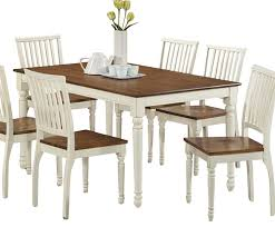 Antique White Dining Room Furniture Kitchen Outstanding This Adorable Dining Table Has Been