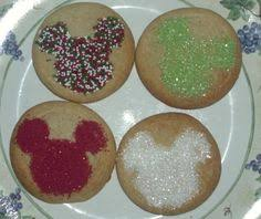 the disney diner mickey mouse christmas sugar cookies recipe