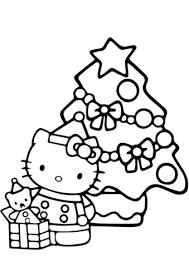 hello christmas tree hello christmas coloring page free printable coloring pages