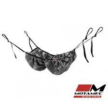 motamec racing helmet hammock holder net black adjustable rollcage