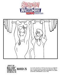 movie review scooby doo wrestlemania mystery plus activities