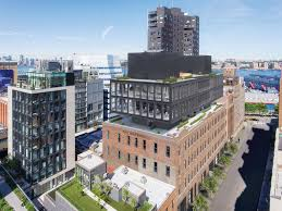 parking garage inhabitat green design innovation former garment factory next to nyc s high line to be topped with new green spaces