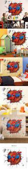 Home Decor Kids 3d Cartoon Spiderman Wall Stickers For Kids Rooms Home Decor Kids