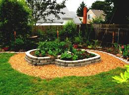 stone landscaping ideas for front yard landscape design for long