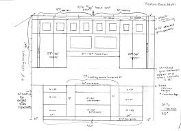 standard kitchen cabinet height and depth modern cabinets