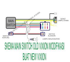 cara pasang saklar vixion pada new vixion thawil s