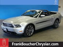 pre owned ford mustang convertible pre owned 2011 ford mustang gt premium convertible in janesville