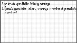 grade 8 math algebraic problem solving youtube