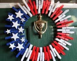 patriotic wreath etsy