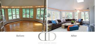 Before And After Family Room Renovation In Weston MA  Duffy - Family room renovation ideas