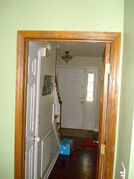 floor project painting wood trim doors white