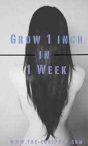 1 inch of hair grow your hair 1 inch in 1 week the co reportthe co report