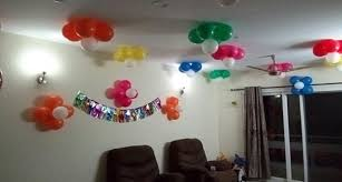 simple balloon decoration ideas home quotemykaam homes