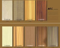 Melamine Kitchen Cabinets New Design Wood Grain Melamine Kitchen Cabinet Cdy Sm026 Buy