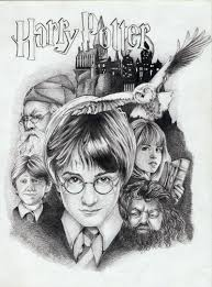 drawn amd harry potter pencil and in color drawn amd harry potter