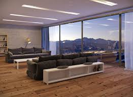 Dark Sofa Living Room Designs by Living Room Bronte House Living Room With Marvelous View Features