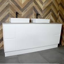 lyra floor mount vanity cabinet without top 1800mm highgrove