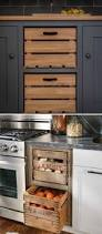 15 insanely cool ideas for storing fresh produce wooden crates