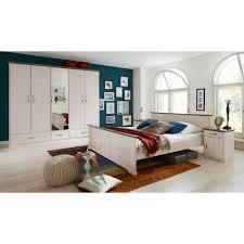 schlafzimmer set hanstholm kiefer massiv white wash stone