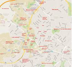 Illinois State Campus Map by The Black Sheep U0027s Judgmental Map Of Charlottesvillethe Black Sheep