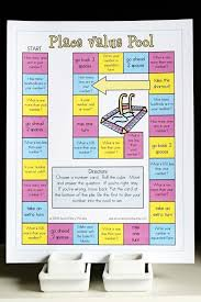 printable math games on place value place value pool printable math game and skill sheet printable