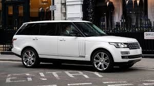 land rover autobiography white fleet u2013 travart luxury car rental