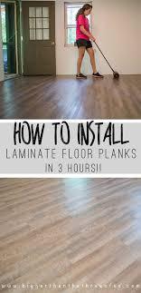 Diy Laminate Flooring How To Install Laminate Wood Floors Home Design