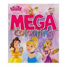 disney princess colouring book ebay