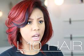 which hair is better for sew in bob sew in atlanta fall color bob l10 hair youtube
