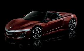 mitsubishi convertible 2016 acura nsx may add convertible type r variants news car and