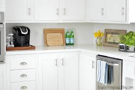 How To Paint Kitchen Cabinet How To Paint Kitchen Cabinets Without Sanding Wife In Progress