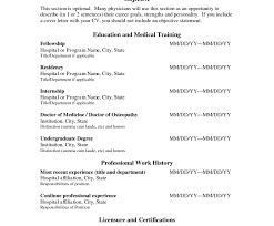 Medical Doctor Resume Example Download Doctor Resume Template Haadyaooverbayresort Com