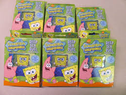 6 spongebob squarepants deep seal duel trading card game starter
