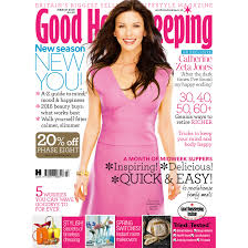 house keeping catherine zeta jones is our march cover star good housekeeping