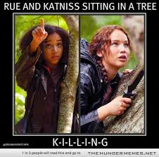 Funny Hunger Games Meme - first comes tracker jackers then comes the sting then comes the