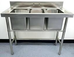 used 3 compartment stainless steel sink commercial stainless steel sink kitchen s used sinks