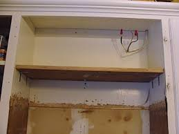 how to install over the range microwave without a cabinet hang an over the range microwave without an overhead cabinet