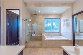 large bathroom design ideas 80 master bathrooms with corner showers for 2018