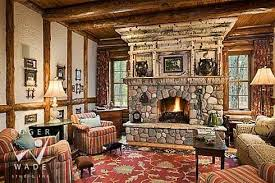rustic stone fireplaces standout rustic stone fireplace designs monuments in stone