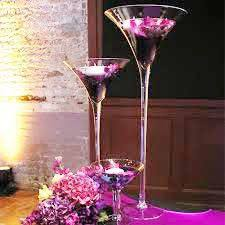 Glass Vases For Weddings Centerpiece Ideas Martini Glass Centerpiece Ideas Martini Glass