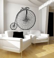 wall art decals bicycle color the walls of your house wall art decals bicycle request a custom order and have something made just for you