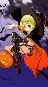 anime halloween night background halloween iphone wallpaper pixelstalk net