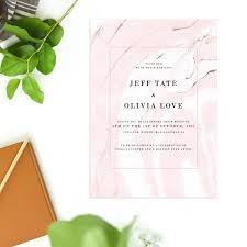wedding invitations brisbane pink marble wedding invitations precious sail and swan