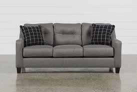 average height of couch seat brindon charcoal sofa living spaces
