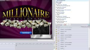 getting started with the storyline millionaire template