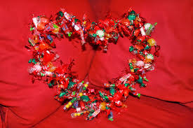candy wreath 20 easy ways to make a candy wreath guide patterns