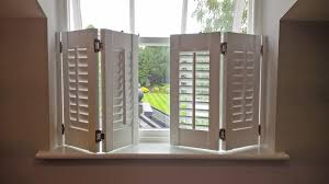 café style shutters elegance for your windows privacy at eye level