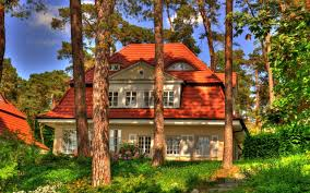 houses little house trees small houses architecture free desktop